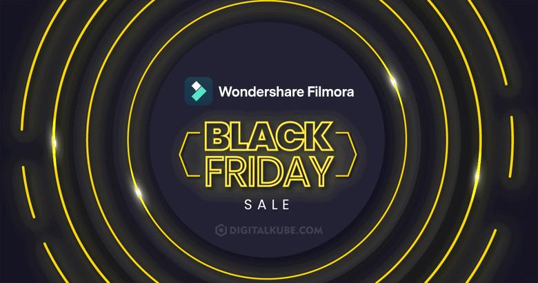 Wondershare Filmora Black Friday Deals
